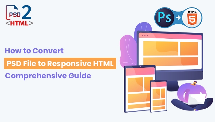 How to Convert PSD File to Responsive HTML
